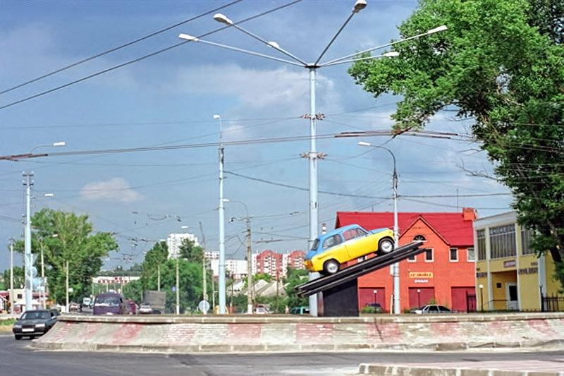 Запорожец ЗАЗ-965 на ул. Магистральная