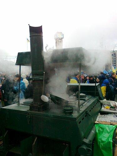 Дым над Евромайданом