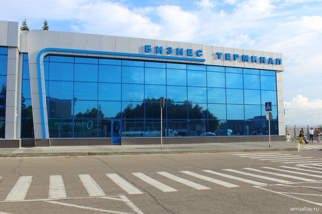 Бизнес-терминал в аэропорту Барнаула