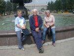 Иркутск. У фонтана в сквере Кирова.