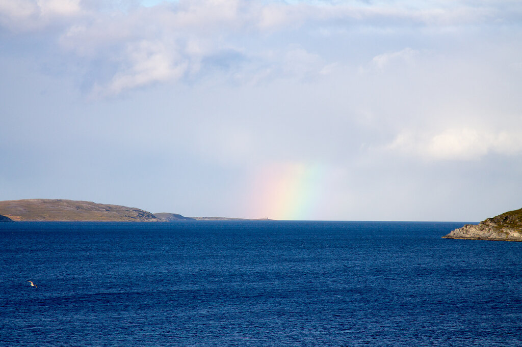 Радуга над Баренцевым морем
