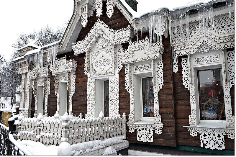 Узорчатый дом.