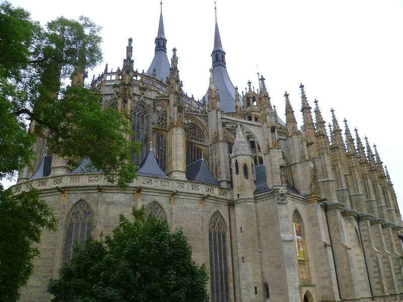 Чехия, Кутна Гора - собор Святой Варвары (Czech Republic, Kutna Hora - Cathedral of St. Barbara)