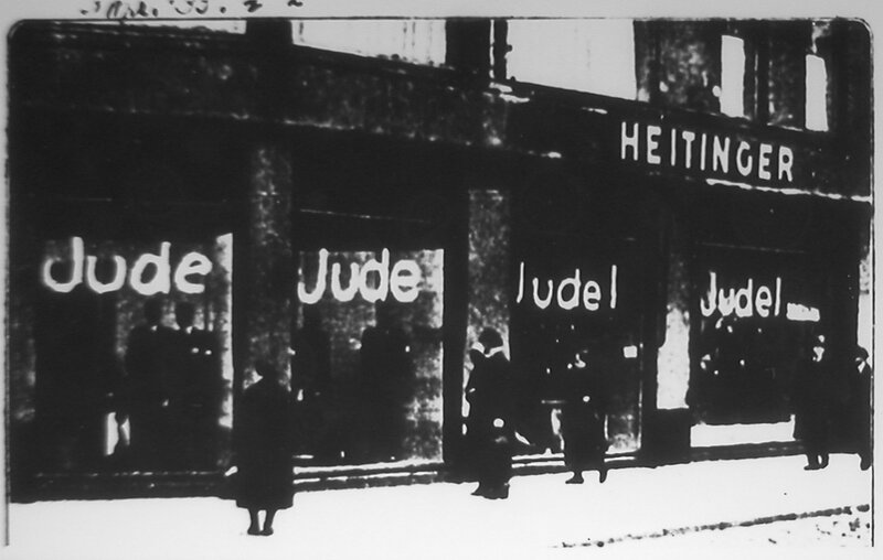 the night the jews experienced dehumanization from the nazi germans Two new histories show how the nazi concentration camps worked the vast majority of jews brought to auschwitz never experienced the with the new yorker's.