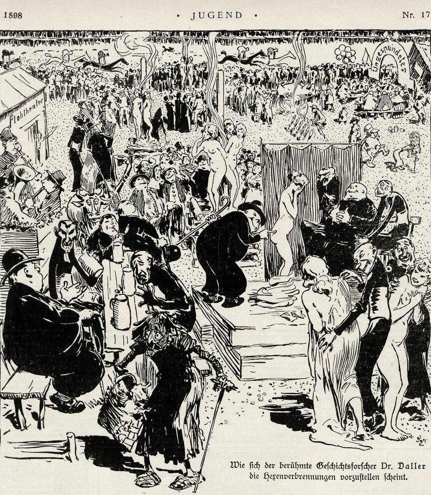 magazine Jugend, 1898