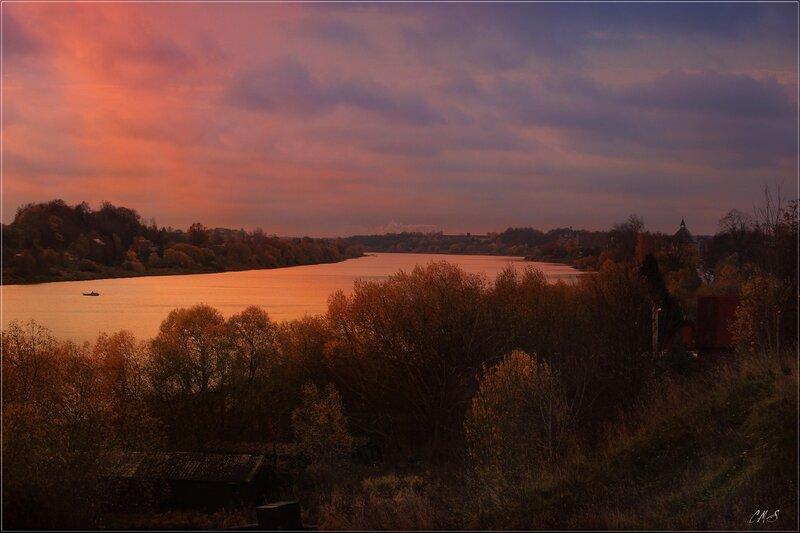 Река Волхов, Старая Ладога.