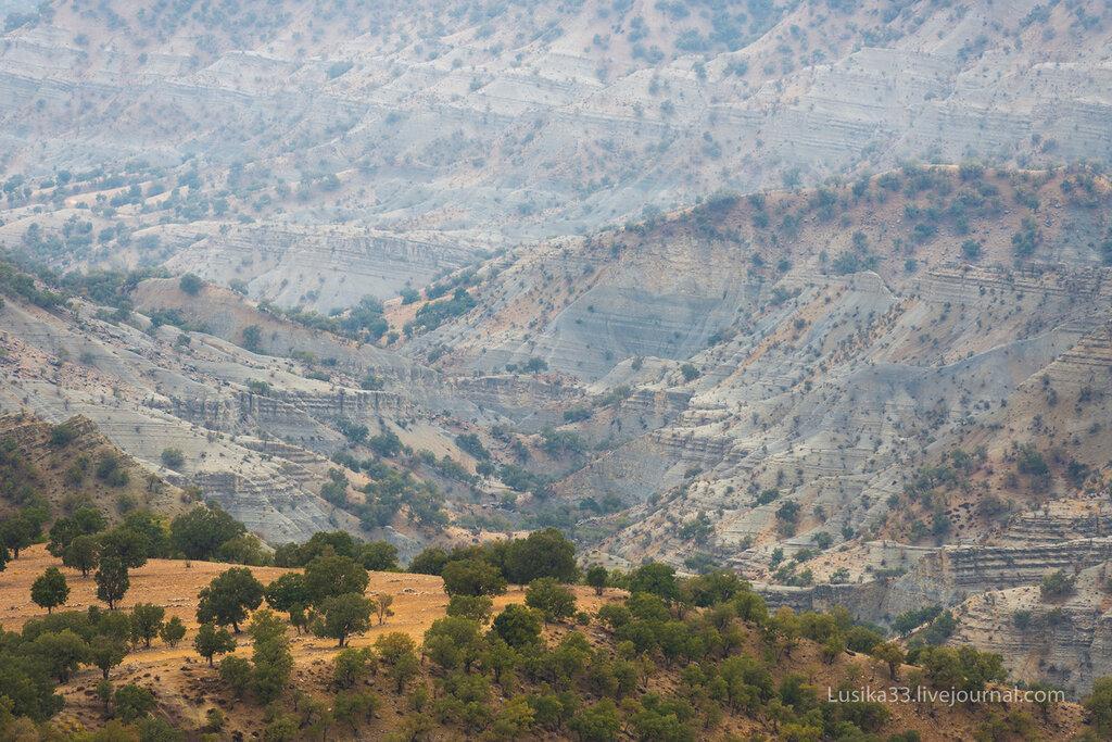Горы Загрос, Иран