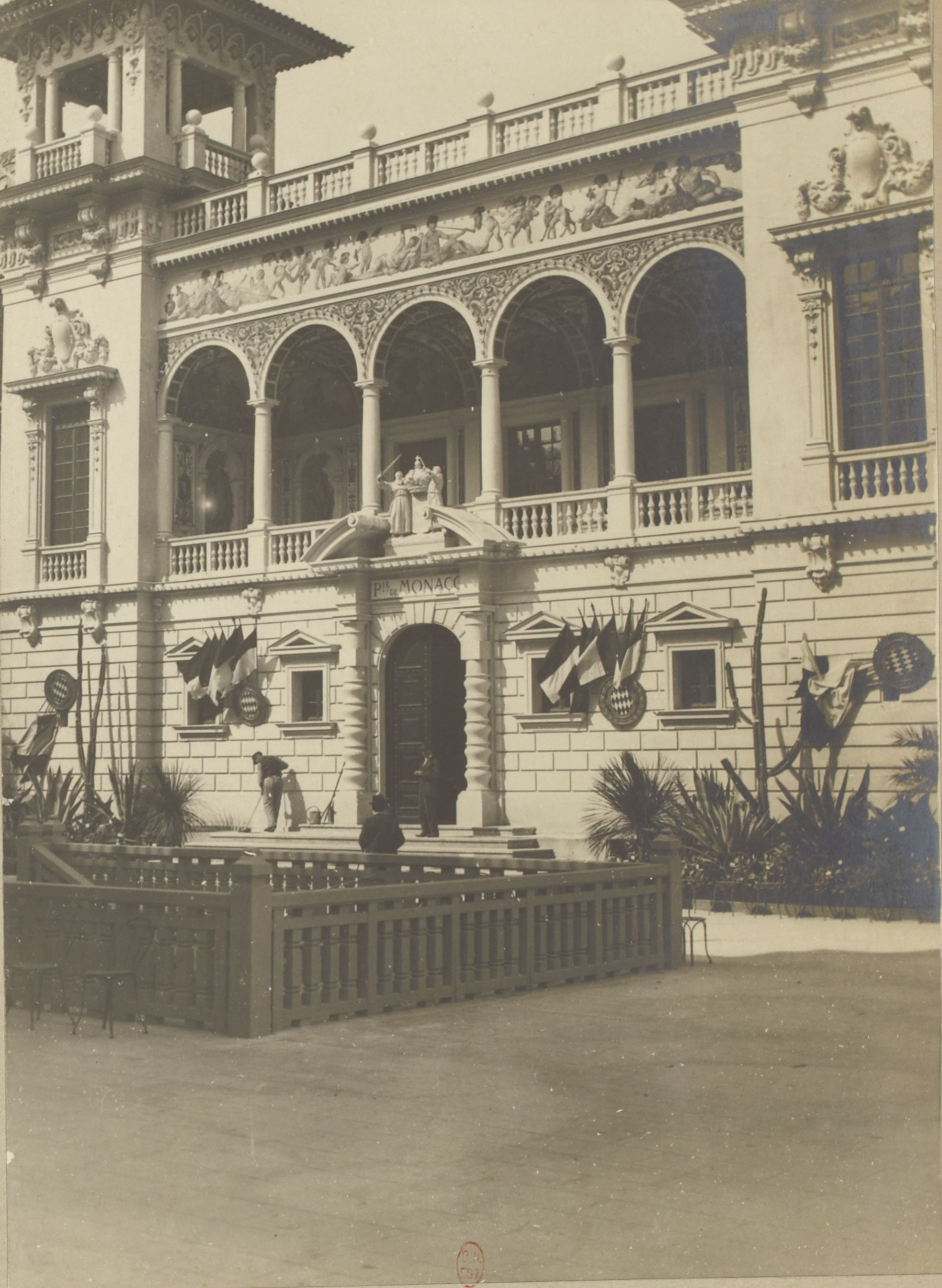 Павильон Монако (фасад)