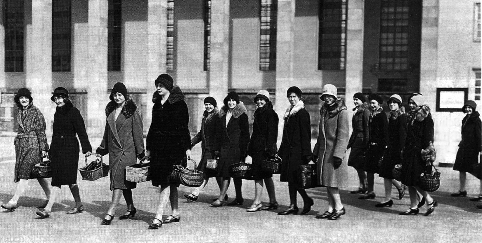 Модницы Кёнигсберга. 1920-е