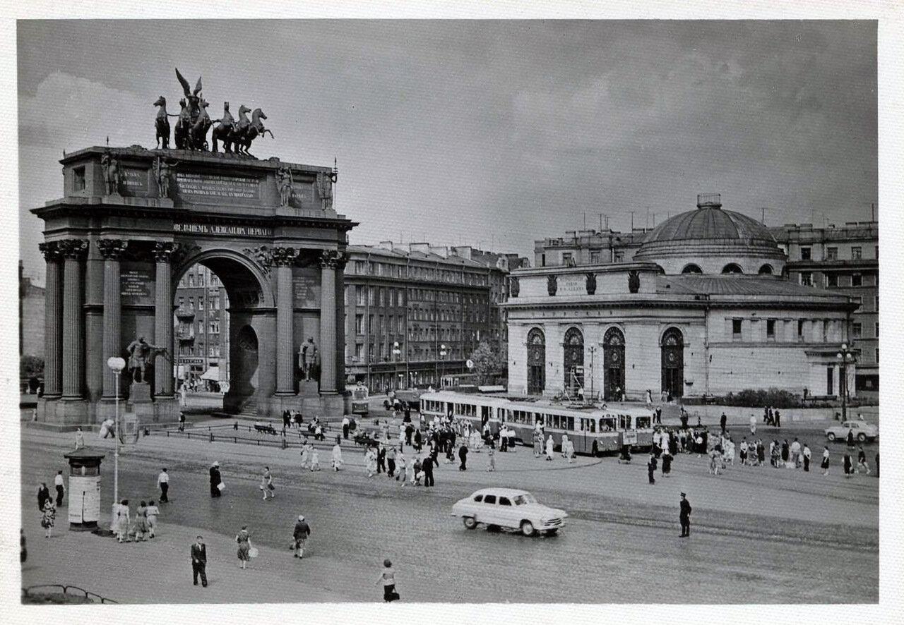 Площадь Стачек. 1960