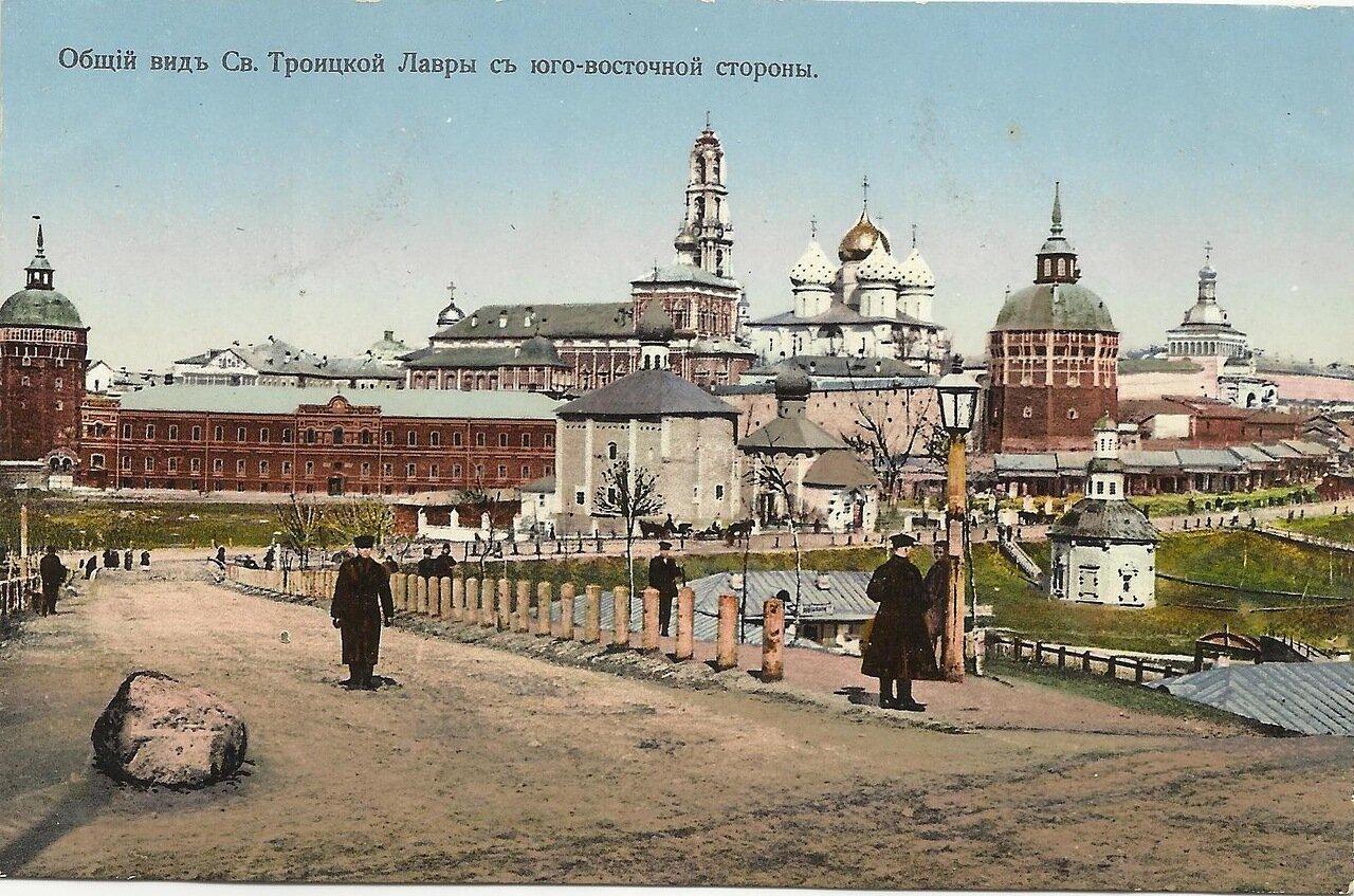 Общий вид Св. Троицкой Лавры с юго-восточной стороны