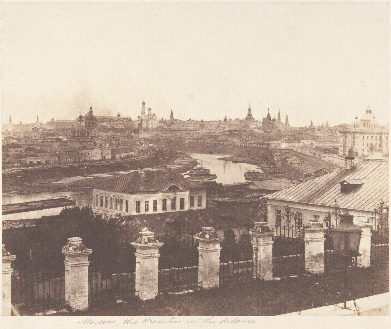 1852. Панорама Москвы.