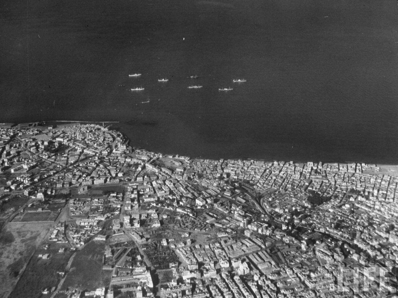 1948. Аэрофотосьемка Тель-Авив-Яффо