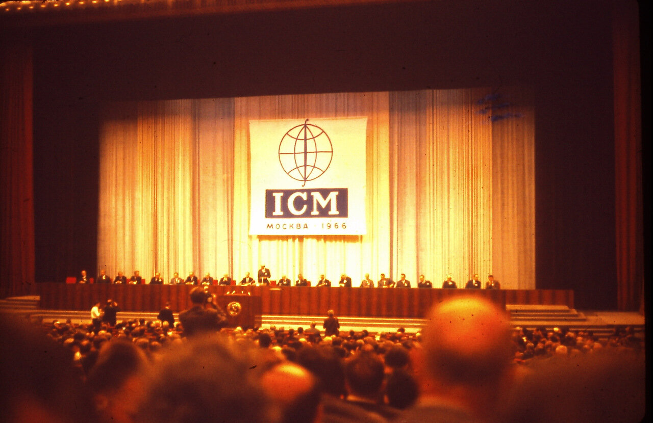 ICMOpening at The Palace of Congresses, Kremlin, Moscow, U. S. S. R., August 1966