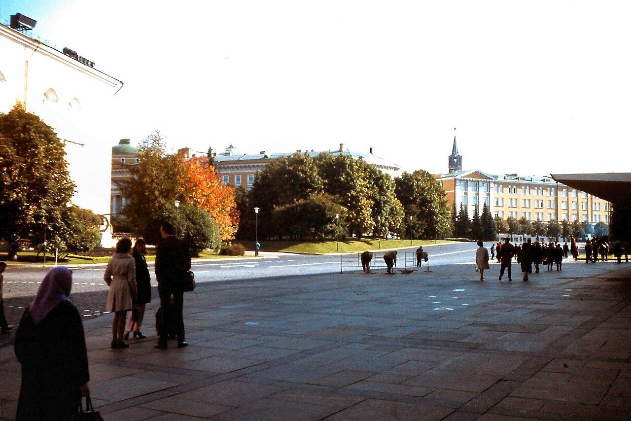 MOSCOU - A l'intérieur du Kremlin