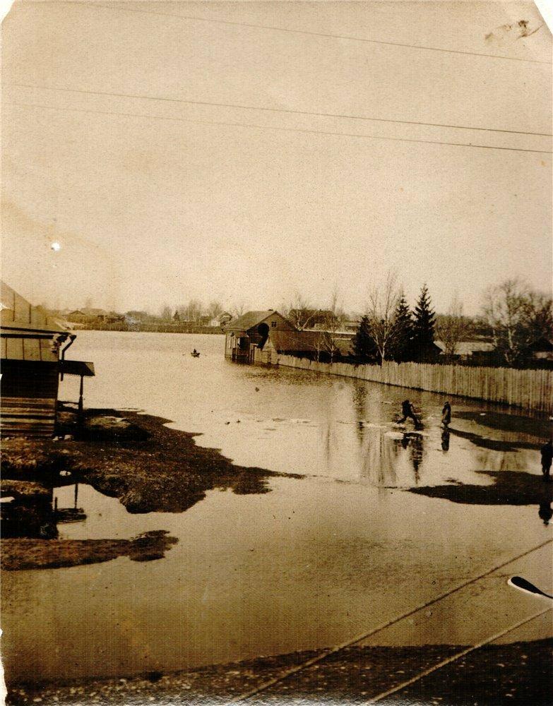 2. Майское наводнение в 1929 году, в городе Тверь
