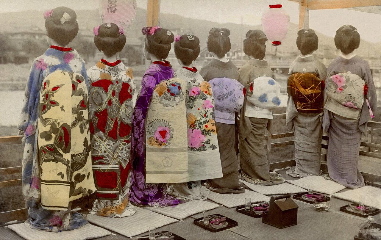 1910. Гейши из Камогавы