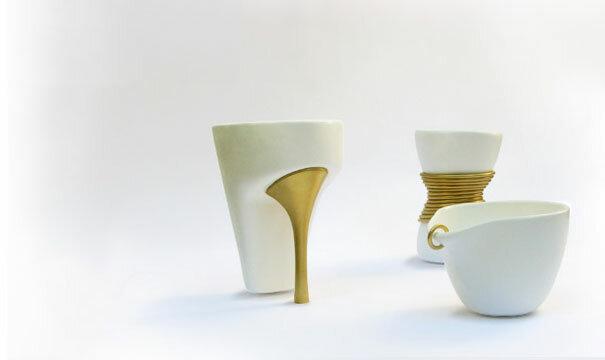Стильные кружки от израильского дизайнера Yael Kristal - жертвам моды