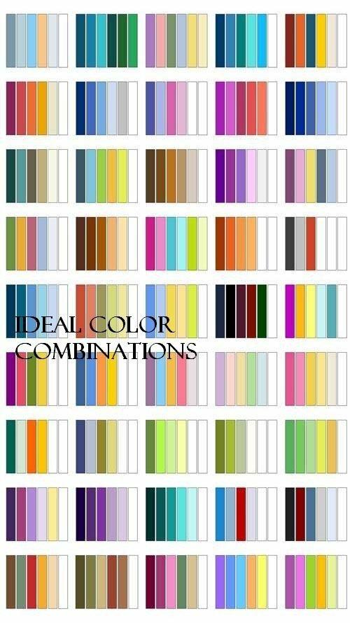 В помощь дизайнеру: оптимальные сочетания цветов