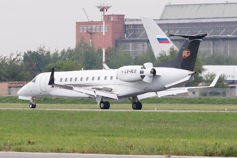 Embraer ERJ-135BJ Legacy 600 (LX-RLG) Global Jet Luxembourg DSC2067