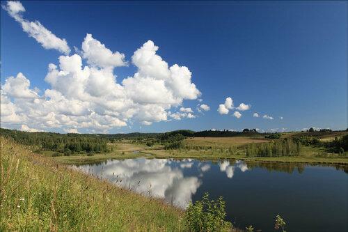 Городищенское озеро.