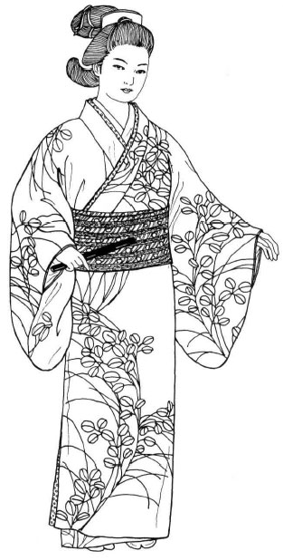 """История моды №34 - Япония эпохи Эдо. """"Золотая эра"""" страны Восходящего Солнца"""