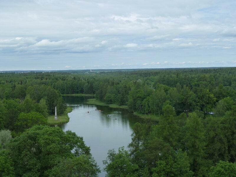 Виды с Сигнальной башни на Белое озеро