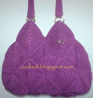 Вязаные сумки и сумочки
