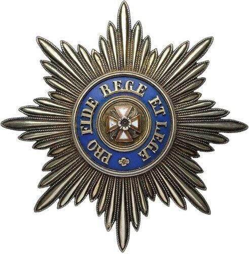 Звезда ордена Белого Орла - 1860-е фирма Keibel.jpg