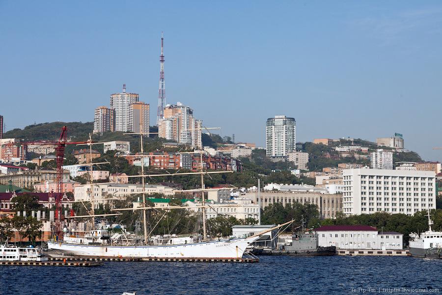 3. У далёкого Японского моря. Владивосток и остров Русский.