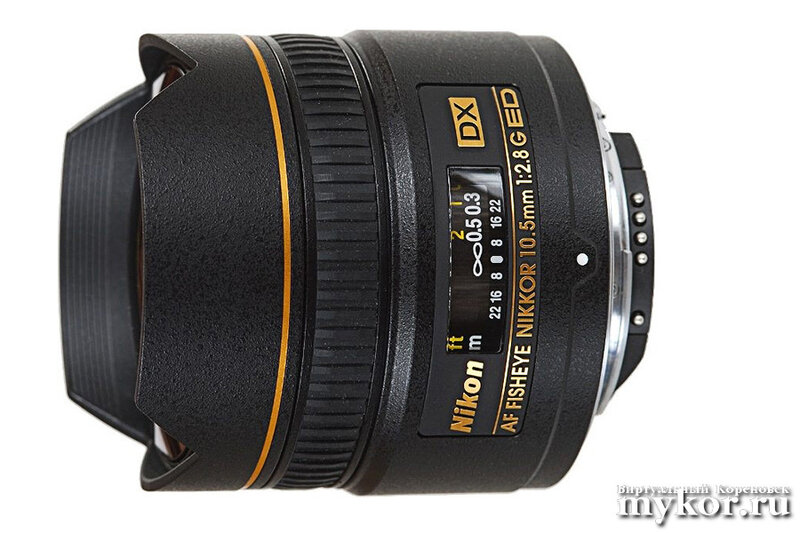 10.5mm f/2.8G ED DX Fisheye-NIKKOR