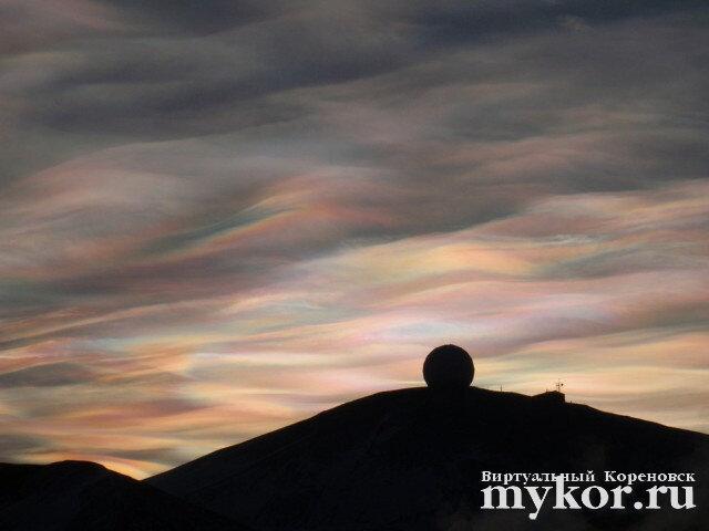 Полярные стратосферные облака фото