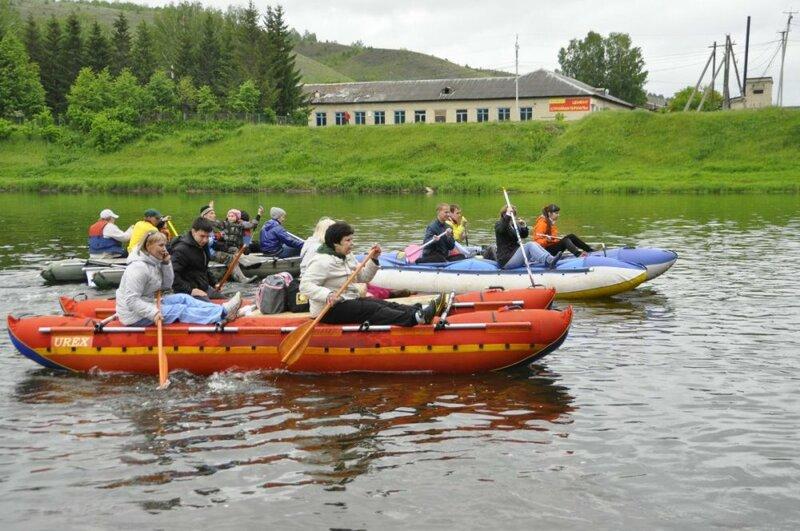 Сплав по реке Ай (19.06.2013)