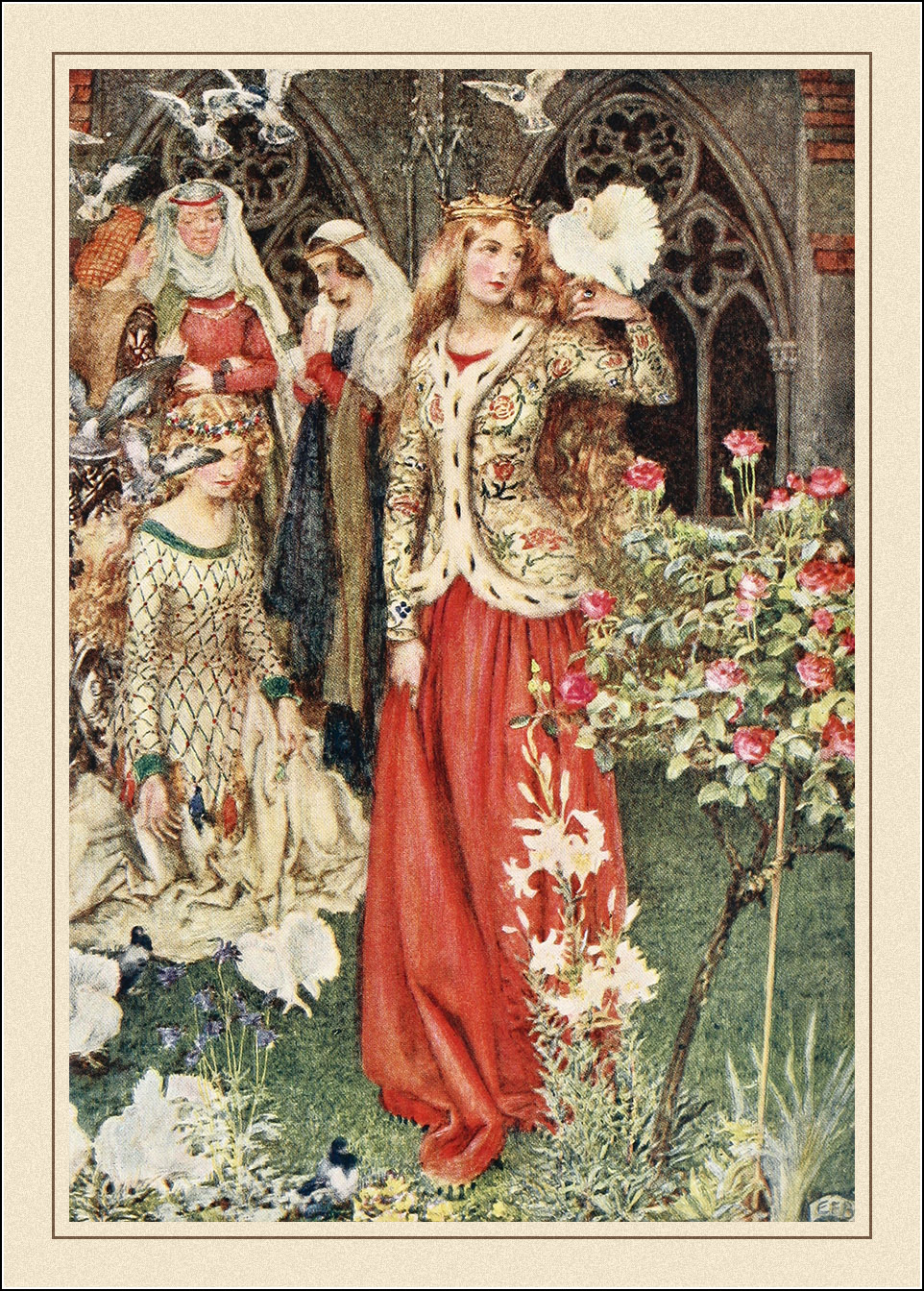 Eleanor Fortescue-Brickdale, Idylls of the King