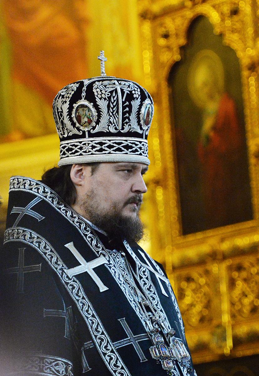 среда Страстной седмицы. 2014