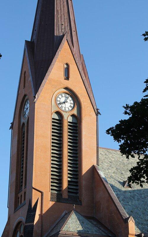 Haugesund. Church of the Savior. Vår Frelsers kirke