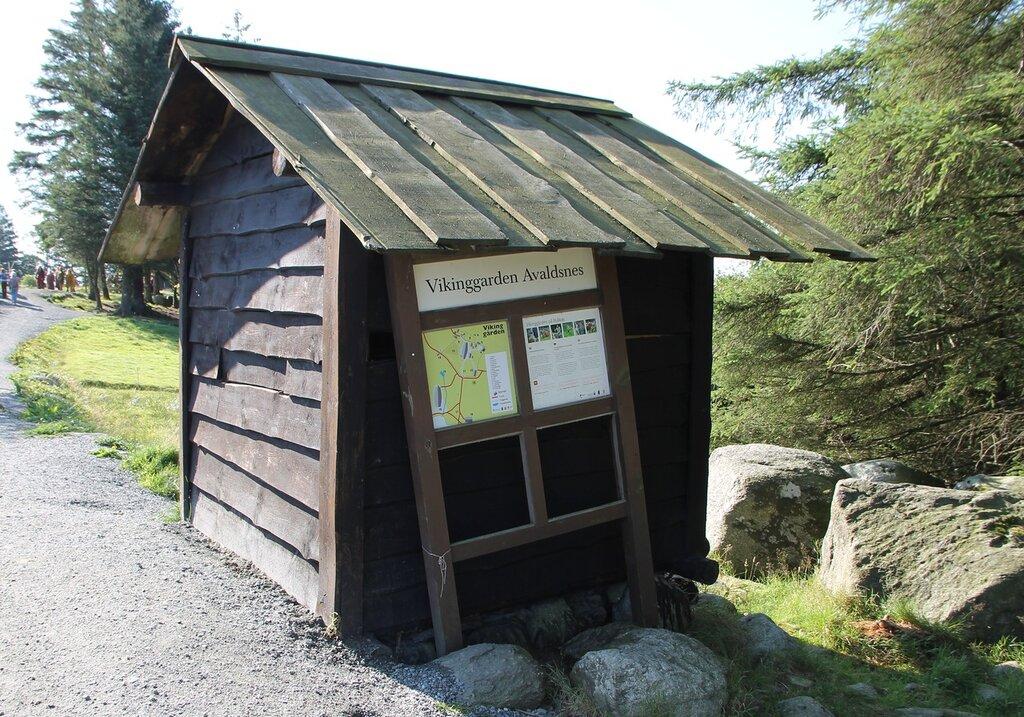 Авалдснес, Деревня викингов Викинггарден