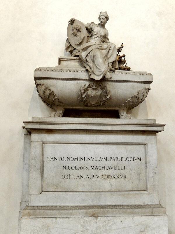 мемориал–кенотаф Никколо Макиавелли