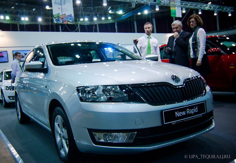 Впечатления о прошедшей выставке Мир Автомобиля
