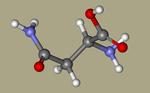 Asparagine - DL-Asparagine, Asparagine, DL-, asparagin, 3130-87-8, DL-Aspartic acid 4-amide, 2,4-diamino-4-oxobutanoic acid, NSC7891, NSC82391-CID_236+.png