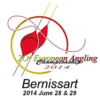 20-ый Чемпионат Европы по ловле рыбы летней поплавочной удочкой. Бельгия, город Bernissart с 22 по 28 июня 2014