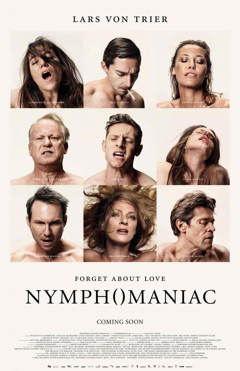 Постеры к фильму Нимфоманка / Nymphomaniac posters by Casper Sejersen