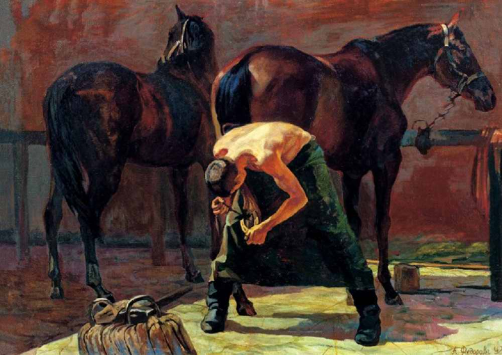 Полковой кузнец (Алексей Федоров, 1992 год)