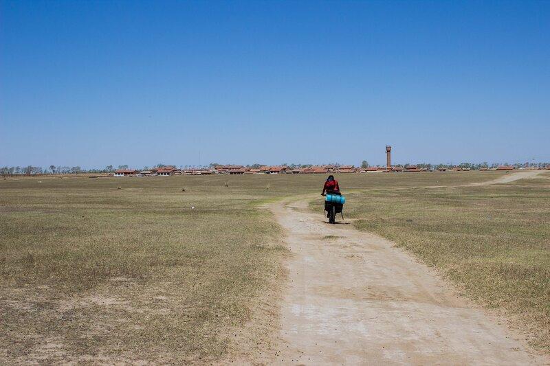 пейзаж во внутренней монголии, китай