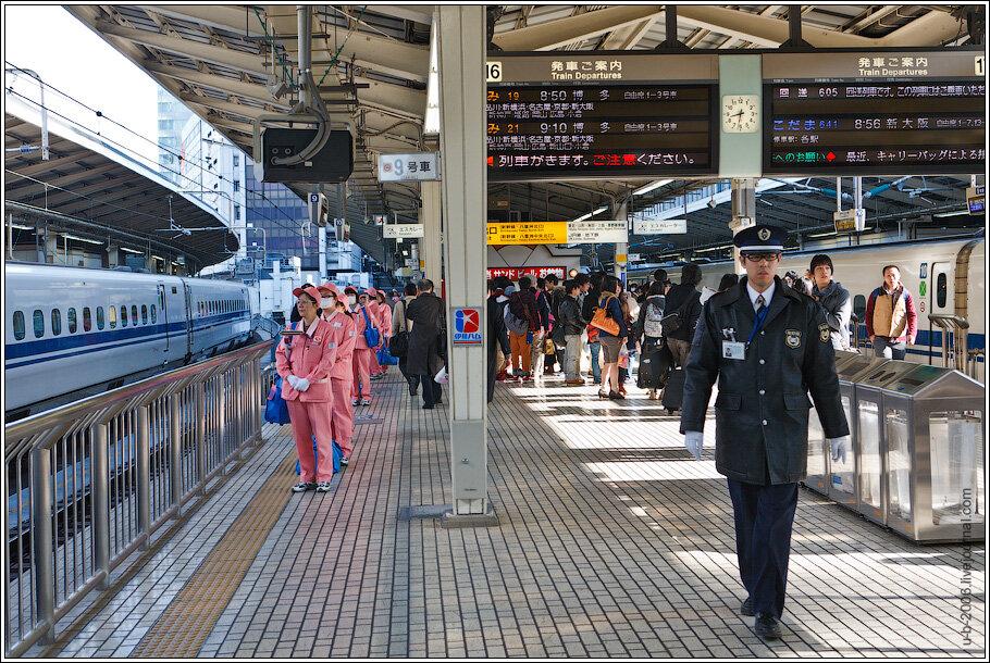 Токио, ЖД вокзал