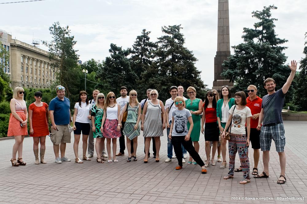 Сергей Доля в Волгограде / Экспедиция «Россия» / 2014 год