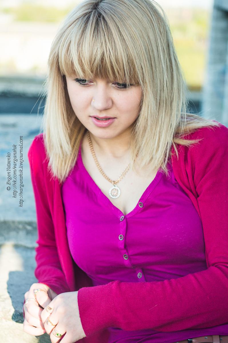 Виктория Грисина: фото-прогулка на крыше!