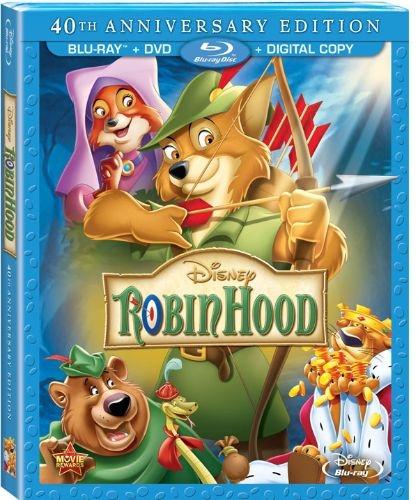 Робин Гуд / Robin Hood (1973) Blu-Ray Remux 1080p
