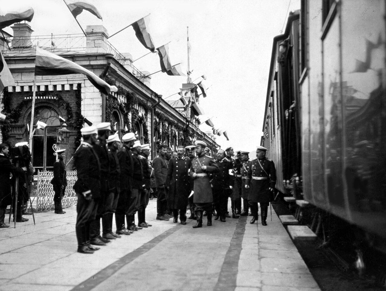 1904 г. Император Николай II в Златоусте.
