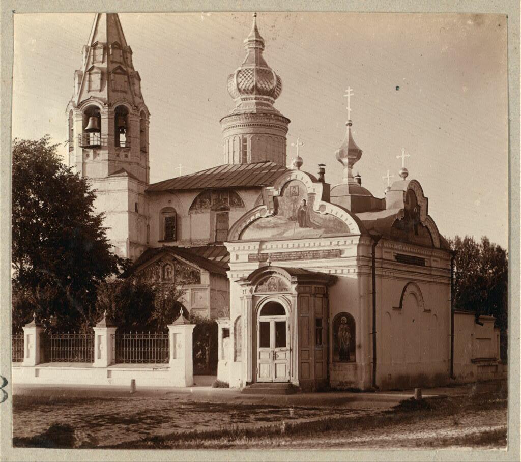 Церковь Николо-Надеинская. Ярославль. 1910.